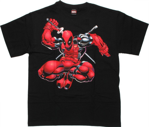 Deadpool Leap T-Shirt