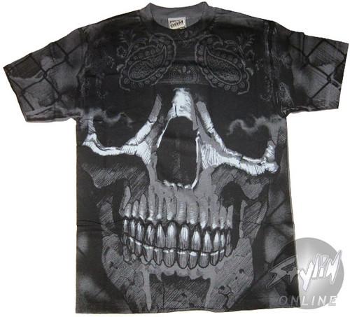 Exile Huge Skull T-Shirt