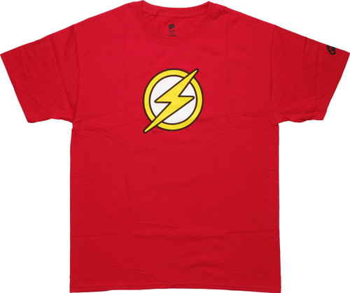 Flash Kid Flash Logo Red T-Shirt