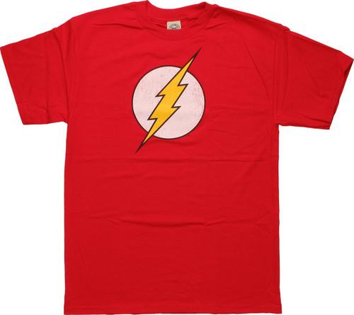 Flash Symbol Distressed T-Shirt
