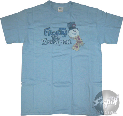 Frosty the Snowman Name Head T-Shirt