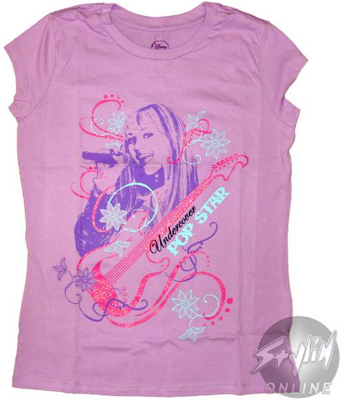 Hannah Montana Undercover Pop Star Tween T-Shirt