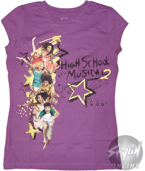High School Musical 2 Group Tween T-Shirt