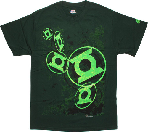 Green Lantern 5 Symbols T-Shirt