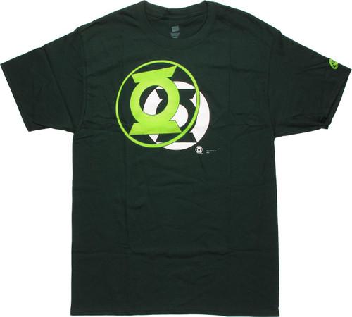 Green Lantern Blackest Night Pop Out T-Shirt