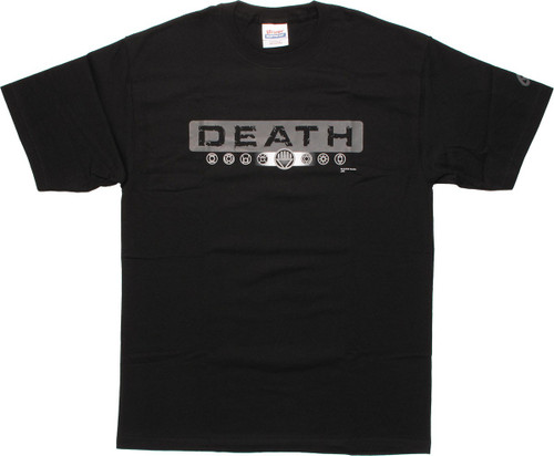 Green Lantern Death Symbols T-Shirt