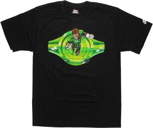 Green Lantern With Ring T-Shirt