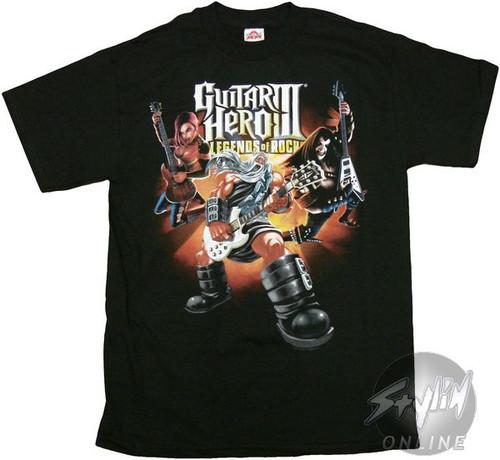 Guitar Hero III Legends of Rock T-Shirt