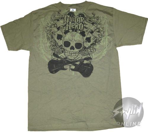 Guitar Hero Guitars Cards T-Shirt