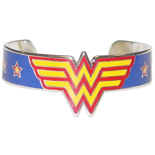 Wonder Woman Logo Stars Bracelet