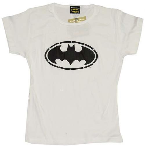 Batman Puff Print Baby Tee