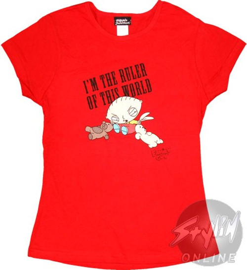 Family Guy Stewie Baby Tee