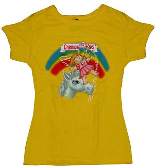 Garbage Pail Kids Impaled Gail Juniors T-Shirt
