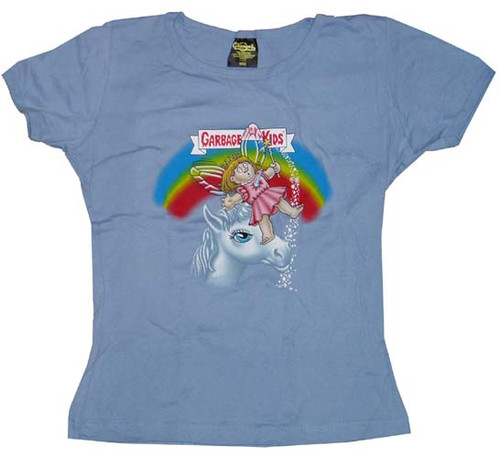 Garbage Pail Kids Gail Juniors T-Shirt