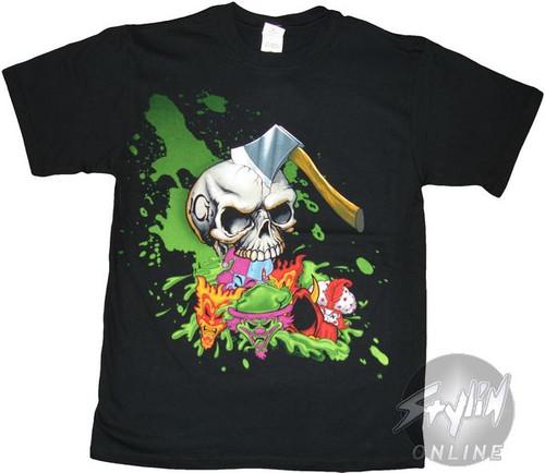Insane Clown Posse Axe Skull T-Shirt