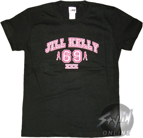 Jill Kelly Jersey Baby Tee