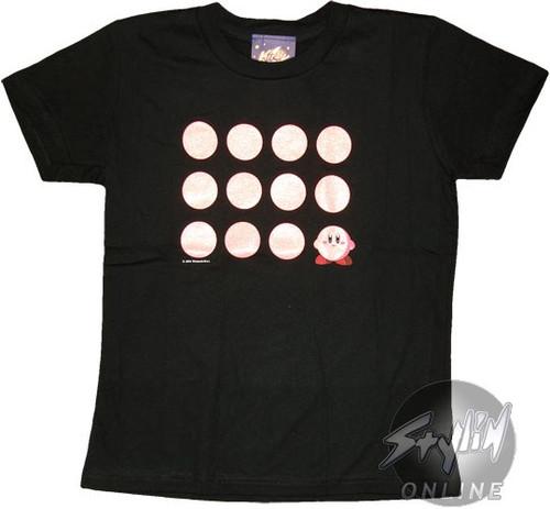 Kirby Dreamland Dots Juniors T-Shirt