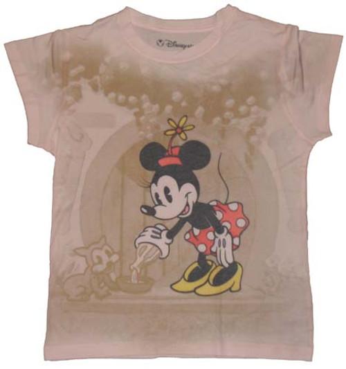 Minnie Mouse Sublimated Ladies Tee