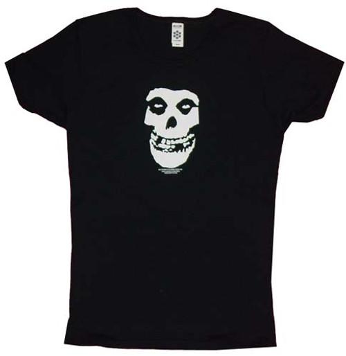 Misfits Skull Face Juniors T-Shirt