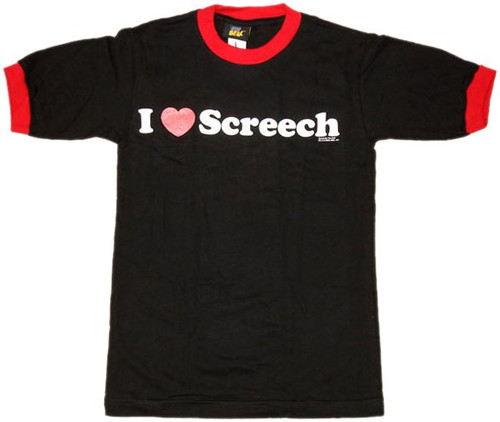 Saved by the Bell I Heart Screech Baby Tee