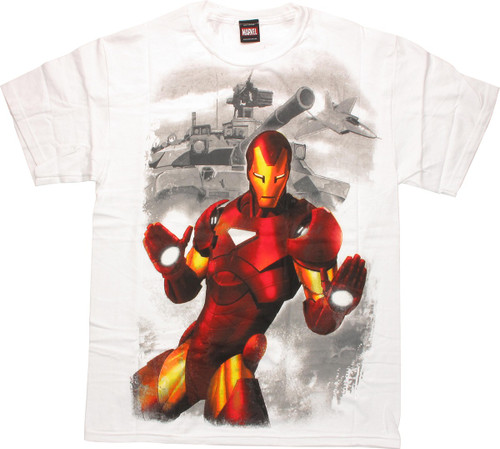 Iron Man Tank T-Shirt