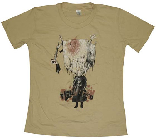 Used Art Juniors T-Shirt