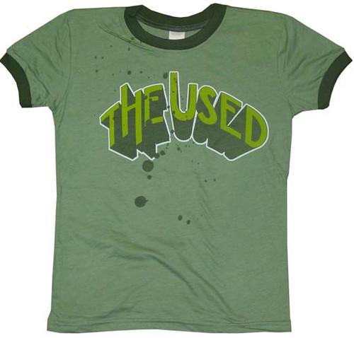 Used Name Juniors T-Shirt