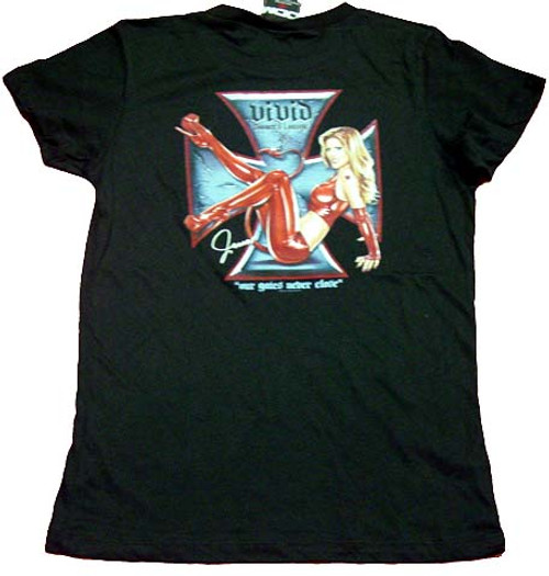 Vivid Entertainment Devil Juniors T-Shirt