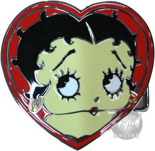 Betty Boop Heart Buckle