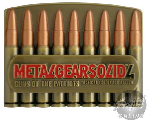 Metal Gear Solid Patriots Belt Buckle