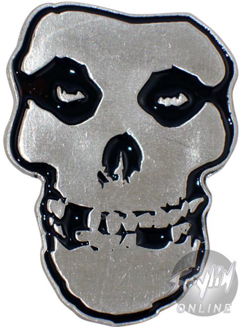 Misfits Skull Logo Belt Buckle