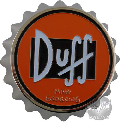 Simpsons Duff Cap Buckle