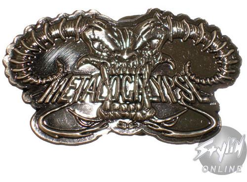 Metalocalypse Logo Belt Buckle