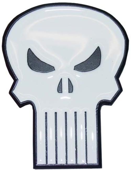 Punisher Skull Logo Belt Buckle