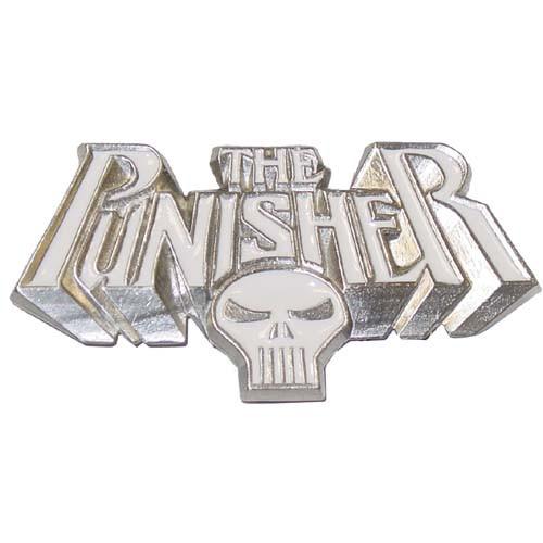 Punisher Name Logo Belt Buckle