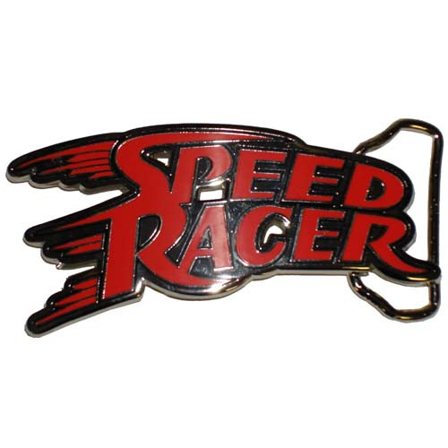 Speed Racer Name Belt Buckle
