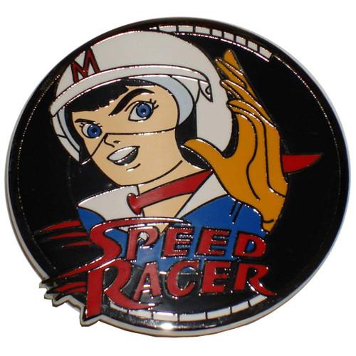 Speed Racer X Metal Belt Buckle