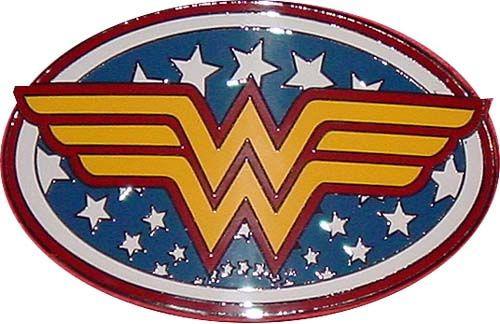 Wonder Woman Belt Buckle