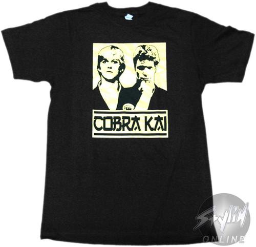 Karate Kid Cobra Busts T-Shirt Sheer