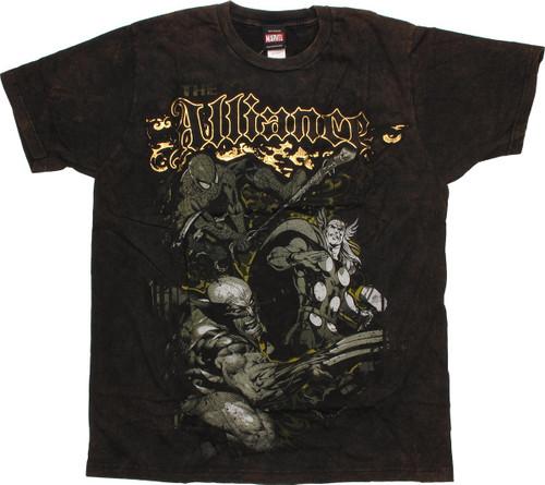 Marvel Alliance T-Shirt Sheer