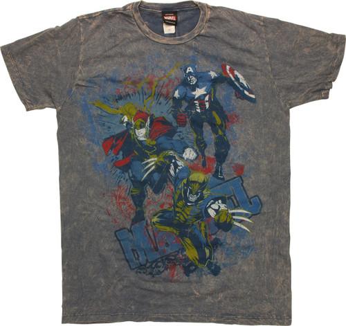 Marvel Chalk T-Shirt Sheer