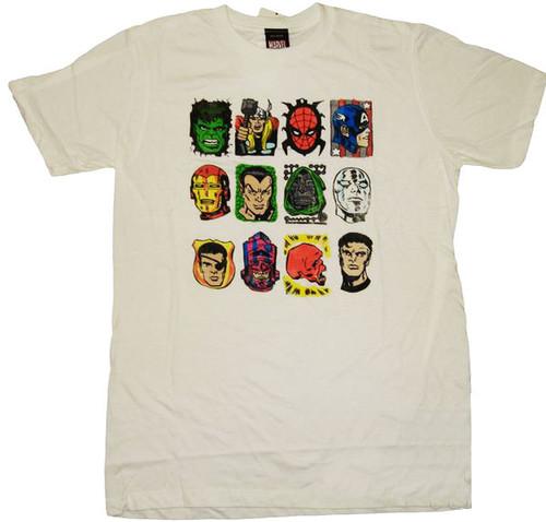 Marvel Classic Group T-Shirt Sheer