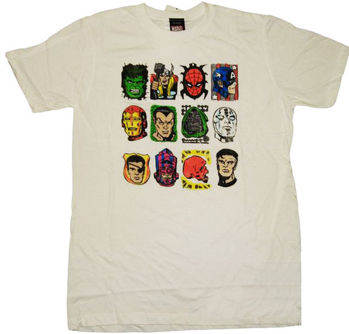 Marvel Classic Group T-Shirt Sheer