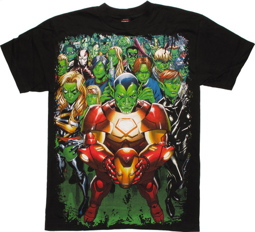 Marvel Skrull Group T-Shirt