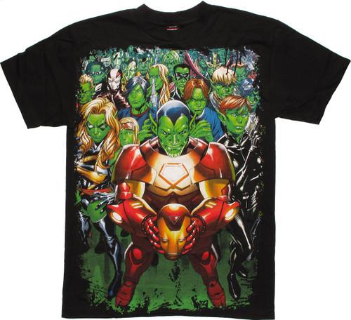 Marvel Skrull Group T-Shirt