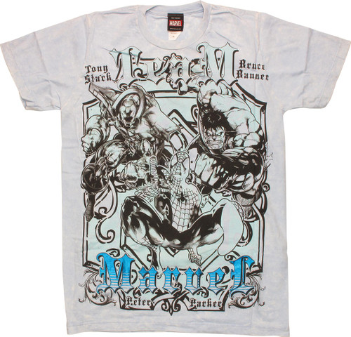 Marvel Team T-Shirt Sheer