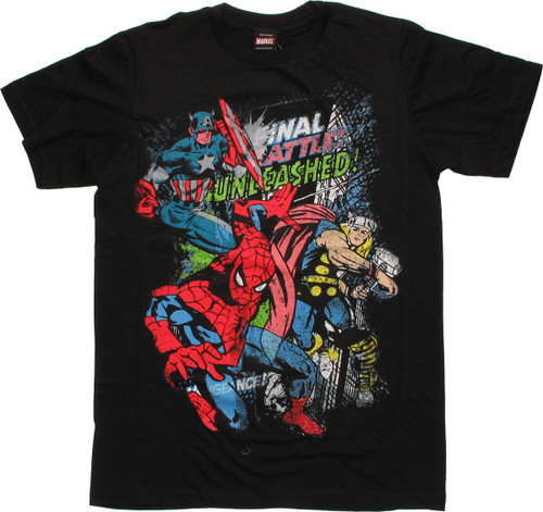 Marvel Unleashed T-Shirt Sheer