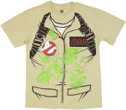 Ghostbusters Venkman Costume T-Shirt
