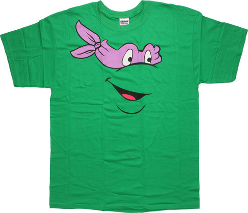 Teenage Mutant Ninja Turtles Donatello Face T-Shirt