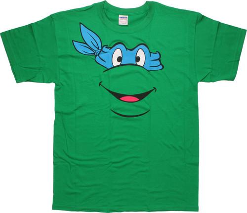 Teenage Mutant Ninja Turtles Leonardo Face T-Shirt